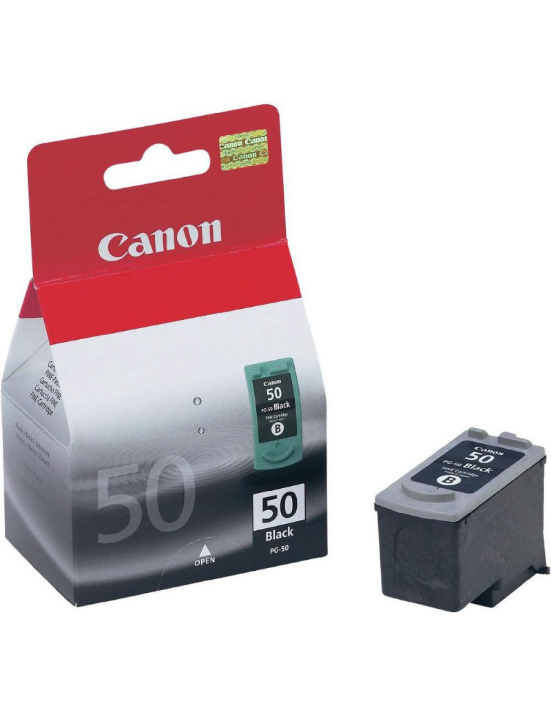 Cartuccia Originale Canon PG-50 0616B001 (Nero 510 pagine)