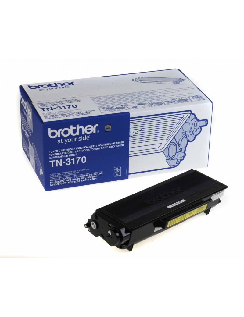 Toner Originale Brother TN-3170 (Nero 7000 pagine)