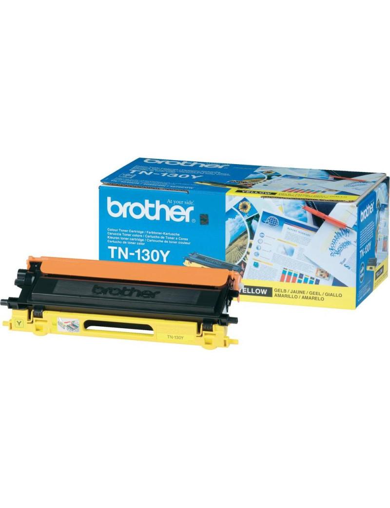 Toner Originale Brother TN-130Y (Giallo 1500 pagine)