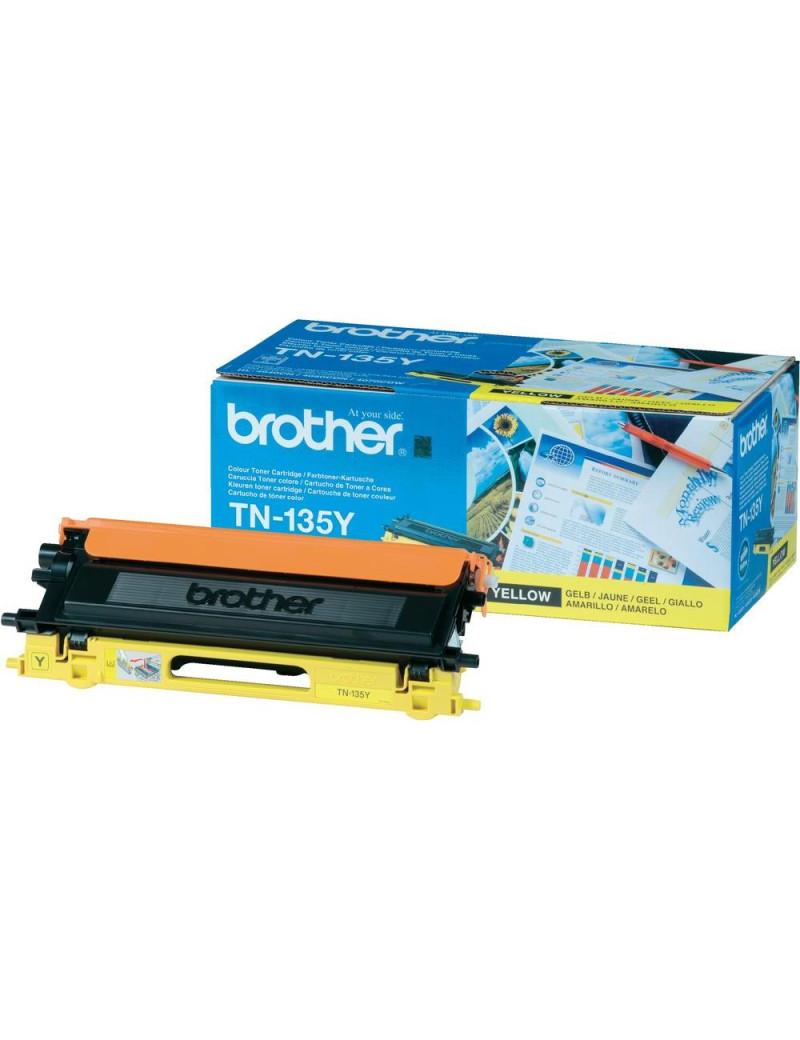 Toner Originale Brother TN-135Y (Giallo 4000 pagine)