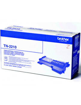 Toner Originale Brother TN-2210 (Nero 1200 pagine)