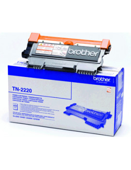 Toner Originale Brother TN-2220 (Nero 2600 pagine)