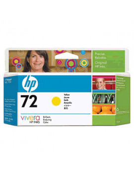 Cartuccia Originale HP C9373A 72 (Giallo 130 ml)