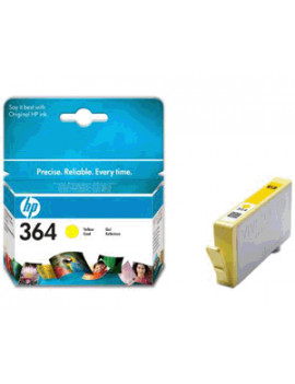 Cartuccia Originale HP CB320EE 364 (Giallo)