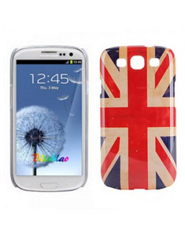 Cover Bandiera U.K. Used per Samsung Galaxy S3 i9300