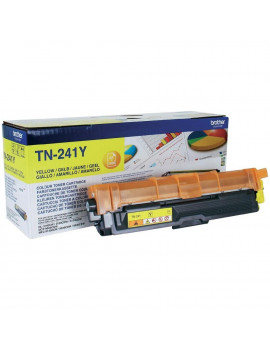 Toner Originale Brother TN-241Y (Giallo 1400 pagine)