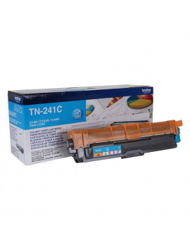 Toner Originale Brother TN-241C (Ciano 1400 pagine)
