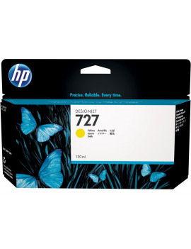 Cartuccia Originale HP B3P21A 727 (Giallo 130 ml)