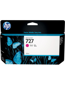 Cartuccia Originale HP B3P20A 727 (Magenta 130ml)