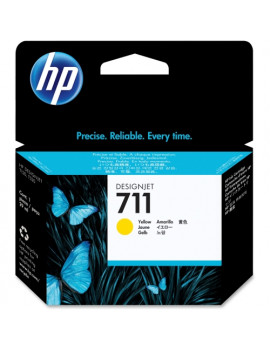 Cartuccia Originale HP CZ132A 711 (Giallo 29 ml)