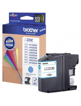 Cartuccia Originale Brother LC-223C (Ciano 550 Pagine)