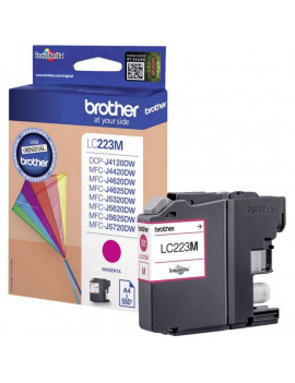 Cartuccia Originale Brother LC-223M (Magenta 550 Pagine)