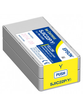 Cartuccia Originale Epson S020604 SJIC22P/Y (Giallo 32,5ml)