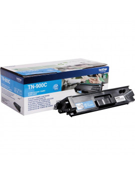 Toner Originale Brother TN-900C (Ciano 6000 Pagine)