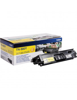 Toner Originale Brother TN-900Y (Giallo 6000 Pagine)