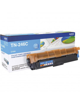 Toner Originale Brother TN-246C (Ciano 2200 pagine)