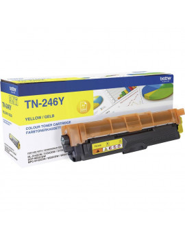 Toner Originale Brother TN-246Y (Giallo 2200 pagine)