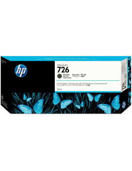 Cartuccia Originale HP CH575A 726 (Nero Opaco 300 ml)
