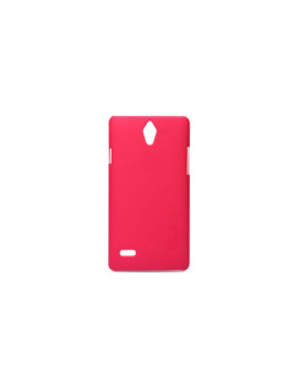 Cover in TPU Soft Touch + Screen Protector per Huawei Ascend G700 (Rosso)