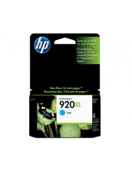 Cartuccia Originale HP CD972AE 920XL (Ciano 700 pagine)