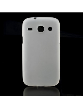 Cover in Silicone per Samsung Galaxy Core i8260 (Bianco)