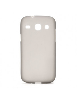 Cover in Silicone per Samsung Galaxy Core i8260 (Grigio)