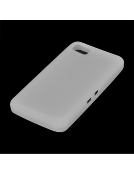 Cover in Silicone TPU per BlackBerry Z10 (Bianco)