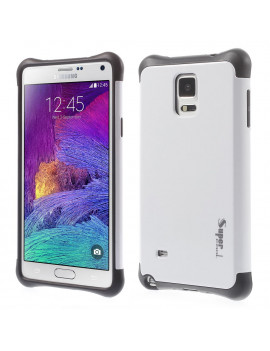 Cover Ibrida in TPU per Samsung Galaxy Note 4 N910 (Bianco)