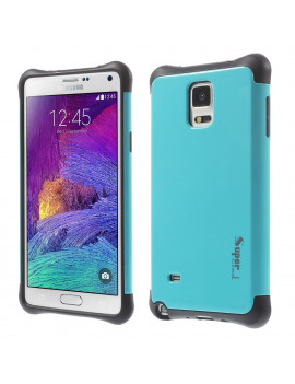 Cover Ibrida in TPU per Samsung Galaxy Note 4 N910 (Azzurro)