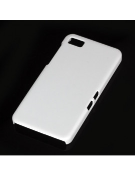 Cover in TPU Semirigida per BlackBerry Z10 (Bianco)