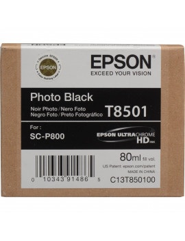 Cartuccia Originale Epson T850100 (Nero Foto 80ml)