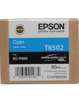 Cartuccia Originale Epson T850200 (Ciano 80ml)