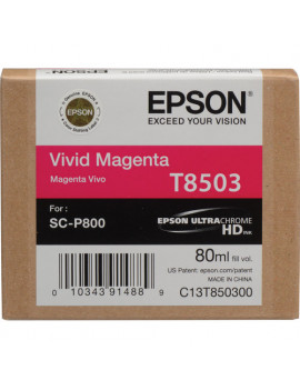 Cartuccia Originale Epson T850300 (Magenta 80ml)