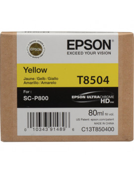 Cartuccia Originale Epson T850400 (Giallo 80ml)