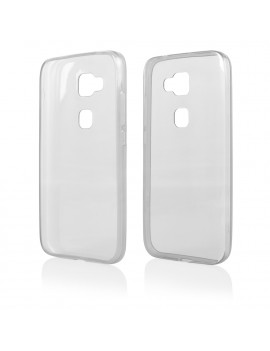 Cover in Silicone Fitty per Huawei Ascend G8 (Trasparente)