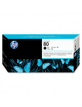 Cartuccia Originale HP C4871A 80 (Nero 375ml)