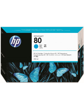 Cartuccia Originale HP C4846A 80 (Ciano 350ml)