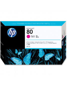 Cartuccia Originale HP C4847A 80 (Magenta 350ml)