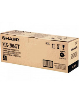 Toner Originale Sharp MX-206GT (Nero 16000 pagine)