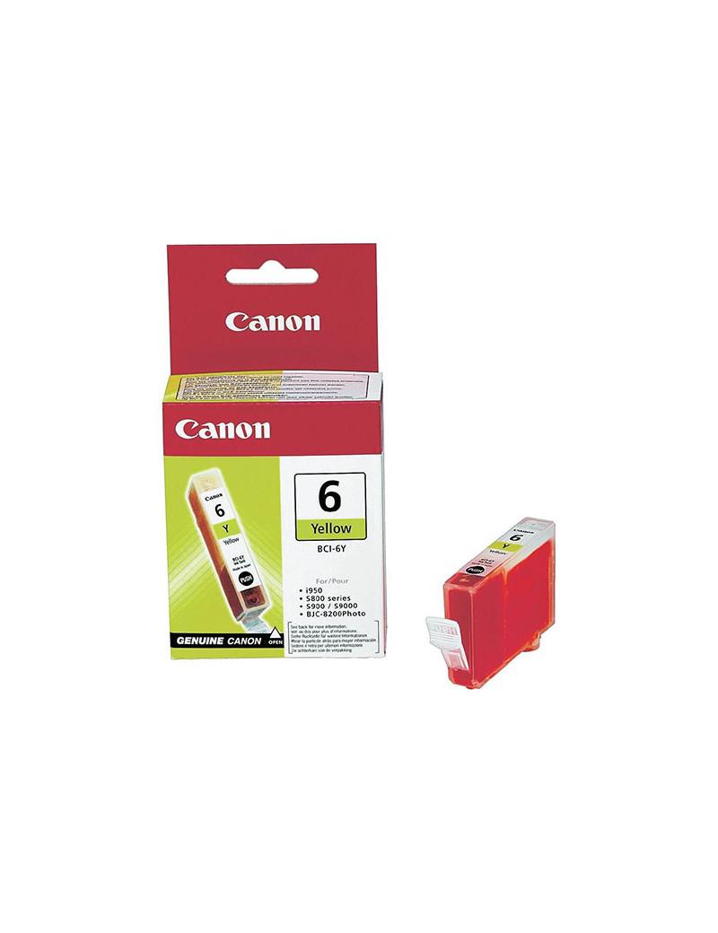 Cartuccia Originale Canon BCI-6Y 4708A002 (Giallo)