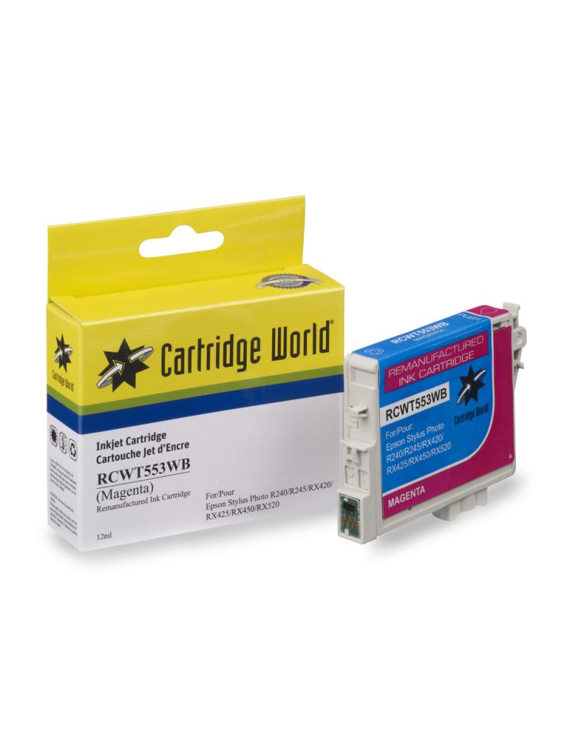 Cartuccia Compatibile Epson T055340 (Magenta)
