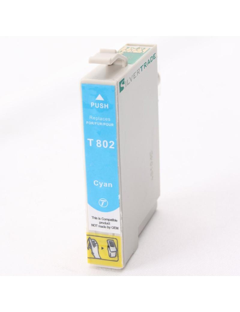 Cartuccia Compatibile Epson T080240 (Ciano)