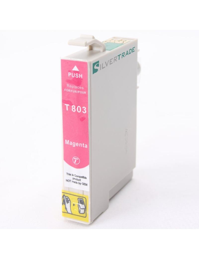 Cartuccia Compatibile Epson T080340 (Magenta)