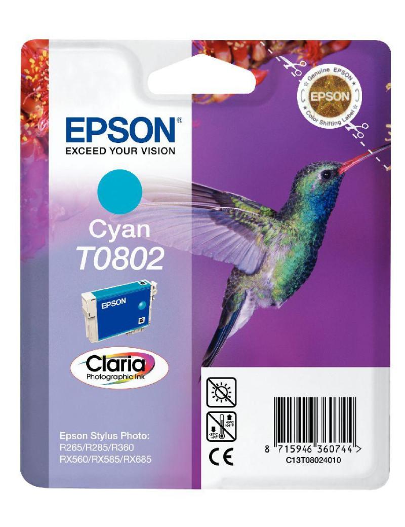 Cartuccia Originale Epson T080240 (Ciano)