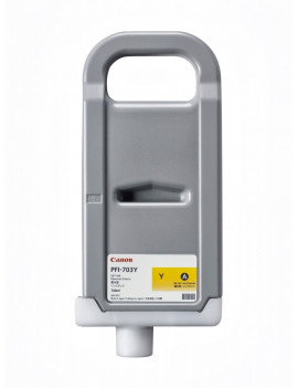 Cartuccia Originale Canon PFI-703Y 2966B001 (Giallo 700 ml)