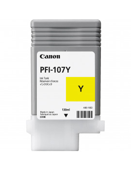 Cartuccia Originale Canon PFI-107y 6708B001 (Giallo 130 ml)