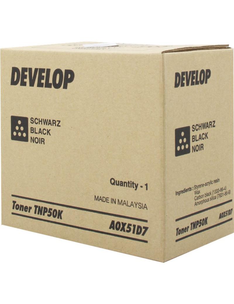 Toner Originale Develop TNP50K A0X51D7 (Nero 5000 pagine)