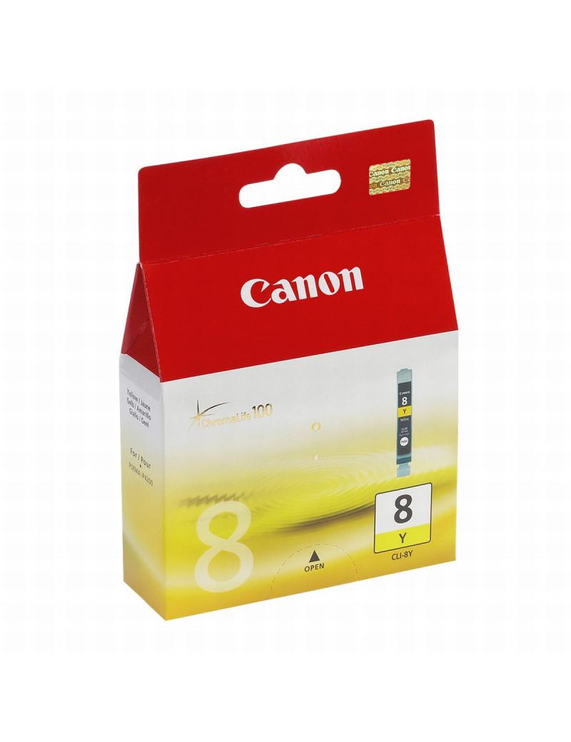 Cartuccia Originale Canon CLI-8Y 0623B001 (Giallo)