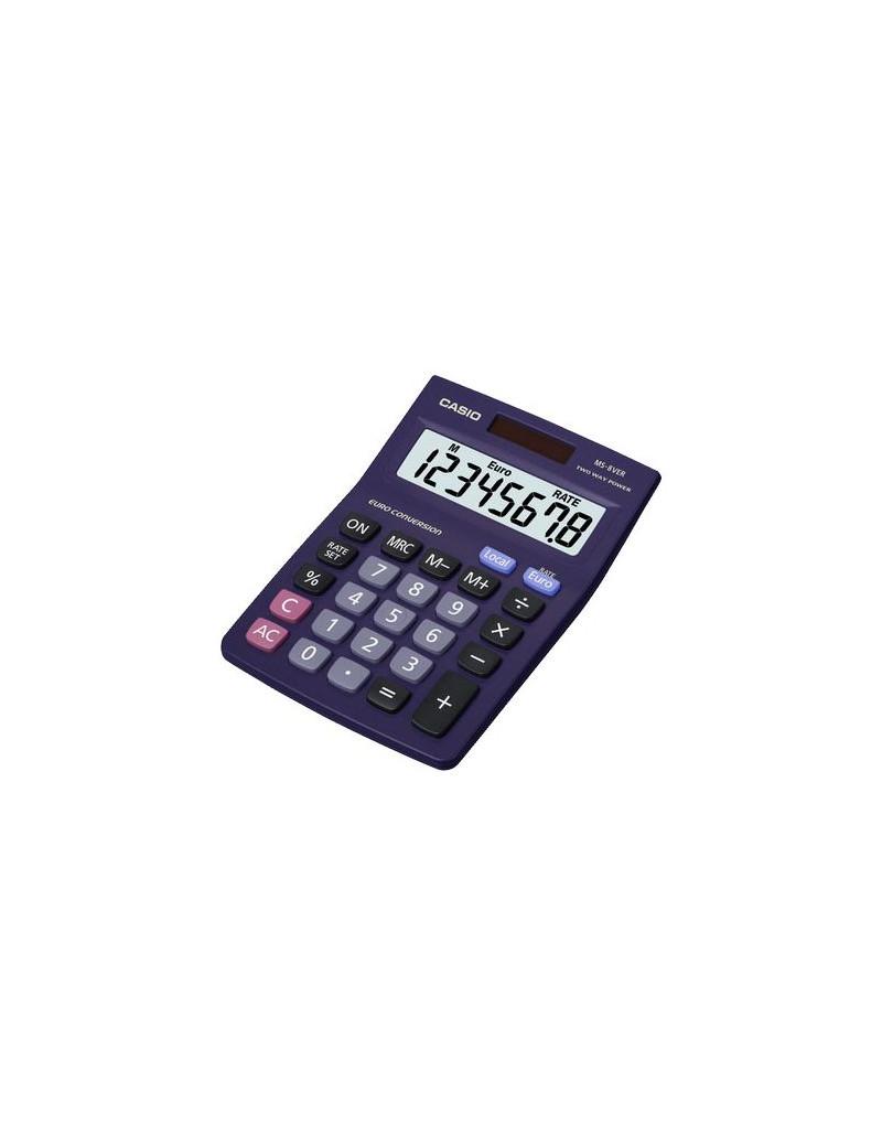 Calcolatrice da Tavolo Casio MS-8VER (Blu Scuro)