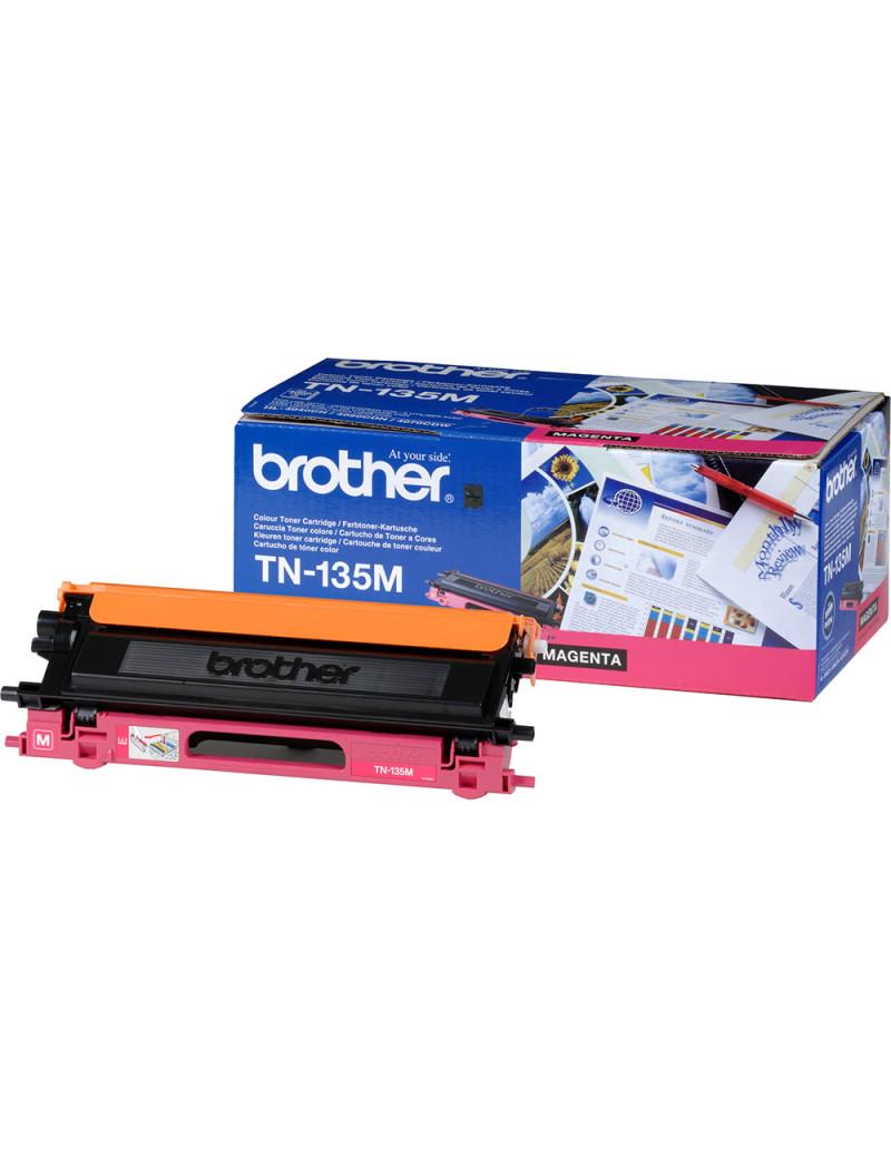 Toner Originale Brother TN-135M (Magenta 4000 pagine)